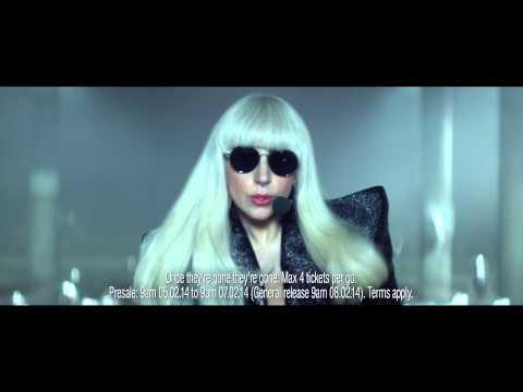 Lady Gaga - O2 Priority Tickets TV ad