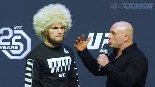 UFC 223: Khabib vs  Iaquinta ceremonial weigh-in highlight