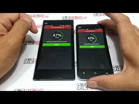 Xiaomi Mi3 vs Xiaomi Mi 2S - Antutu Benchmark - Gizchina.es