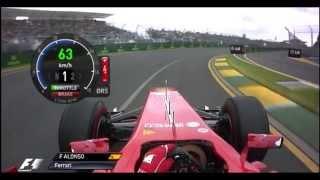 F1 2013 - Australia Onboard Start