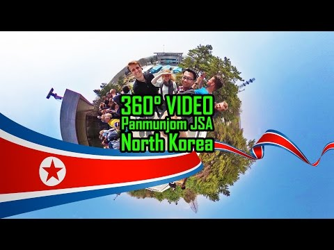 360 Video - Panmunjom JSA North Korea