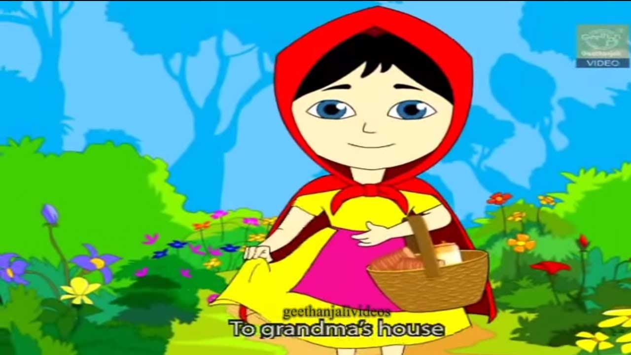 Little Red Riding Hood - Grimm's Fairy Tales - Full Story - YouTube