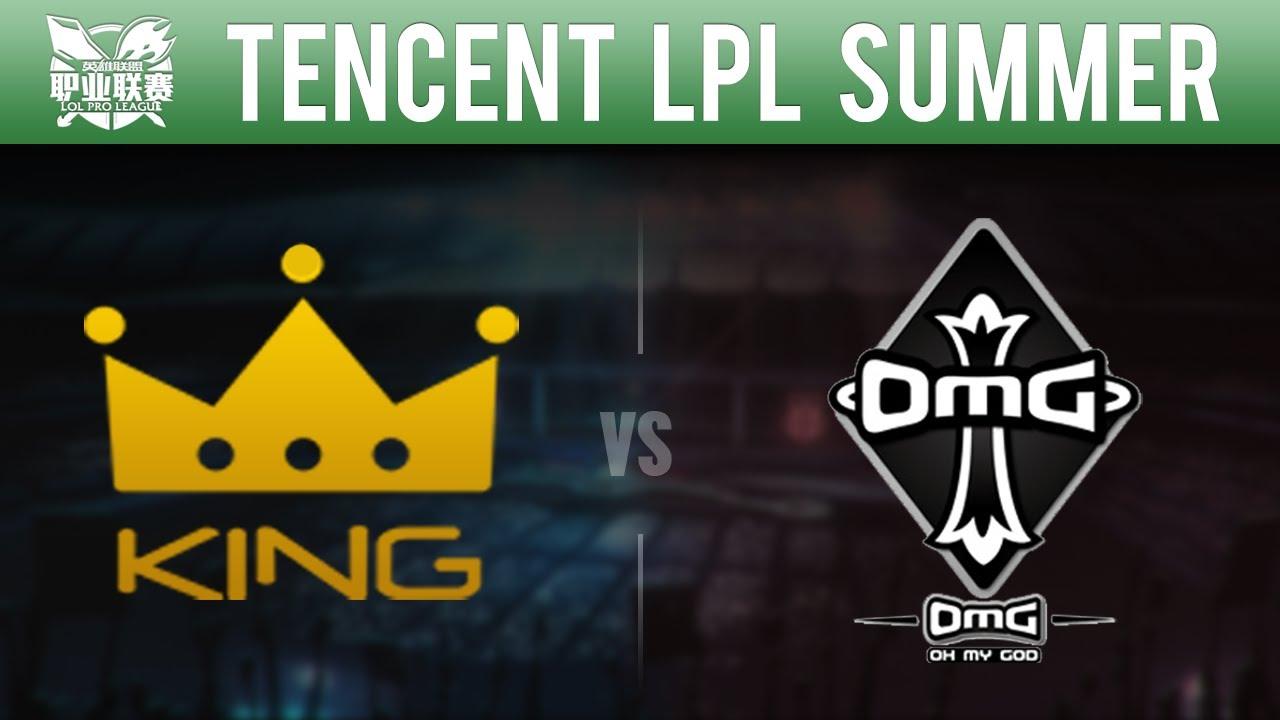 LPL Summer 2015 Week 10 Day 3 - Team King vs Oh My God | Game 1 - KG vs OMG W10D3