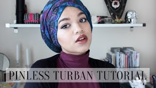 Pinless Turban Tutorial