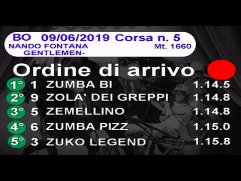 2019 06 09   Corsa 5  Metri 1660   Premio Nando Fontana