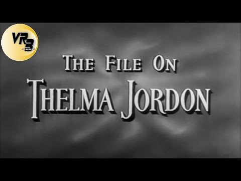 ✭ Il romanzo di Thelma Jordon ✭ film Noir 1950 ★ Barbara Stanwyck ✭ by ☠Hollywood Cinex™