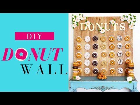 DIY Donut Wall Tutorial | EASY & AFFORDABLE!!!