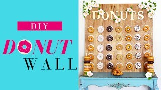 DIY Donut Wall | DIY Dessert Table