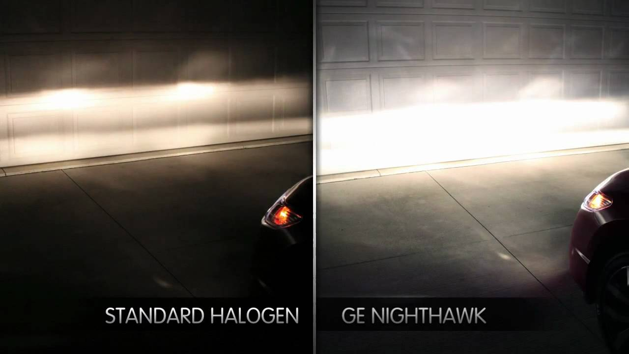 ge nighthawk platinum headlights put 90 more light on the road
