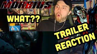 MORBIUS Teaser Trailer Reaction & Review