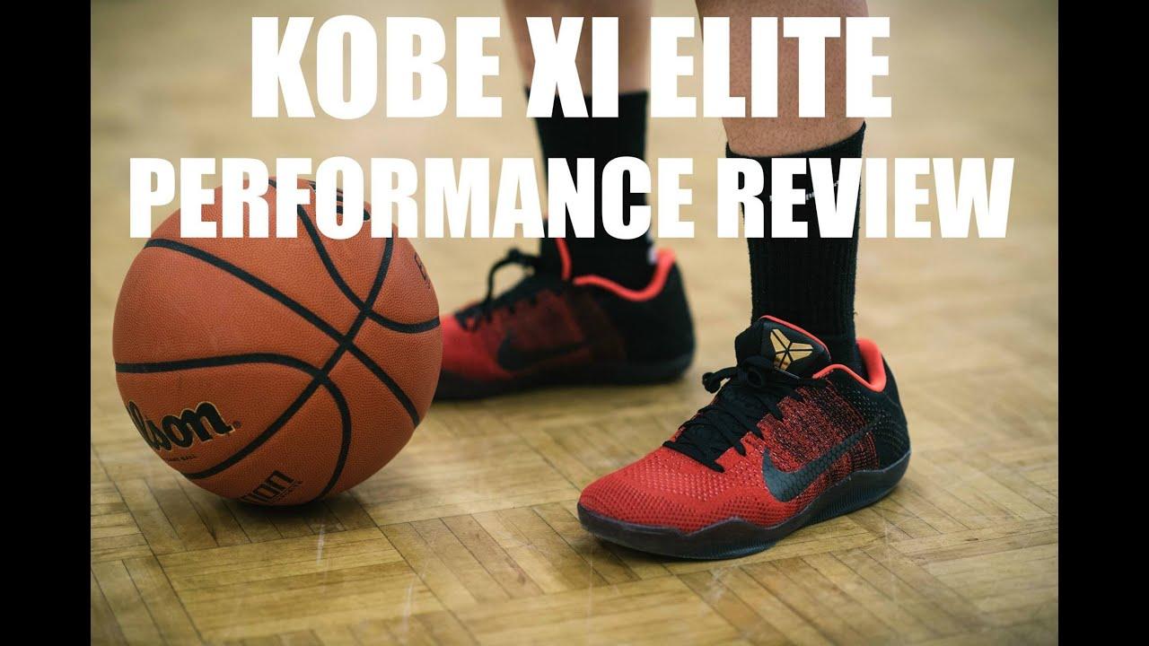 0ad59209483f KOBE XI 11 ELITE PERFORMANCE REVIEW - YouTube