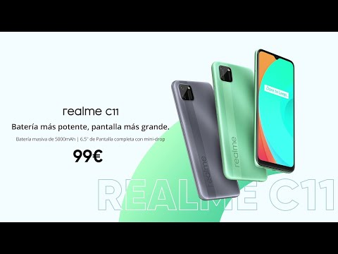 realme C11 | Batería más potente, pantalla más grande