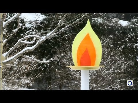 Faire une torche olympique youtube - Comment personnaliser une bougie ...