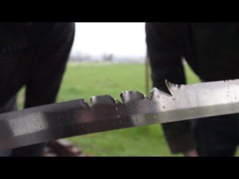 Can a machete cut a katana in half? A Zombie Go Boom Experiment! USA