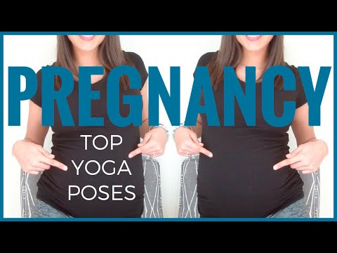 TOP PRENATAL YOGA POSES FOR PREGNANCY