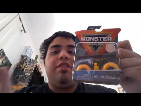 Unboxing 2019 spin master monster jam 1:64 scale (higher education inverse truck)