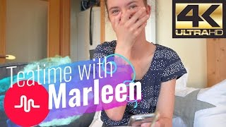 Marleen zeigt peinliches, privates musical.ly / Teatime with Marleen Nr. 1