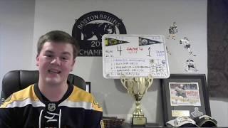 Bruins Fan Reaction - Game 4 - I Saw it Live - BOS 4, EDM 1