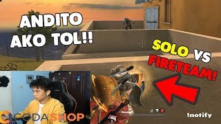 "SOLO VS FIRETEAM ""20 KILLS"" BACK TO AN? (Rules of Survival: Battle Royale)"