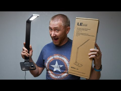 Lighting Ever Wireless Charging Desk Lamp Review