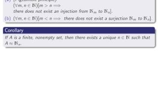Section 5.1b, part 1 Definition of finite set