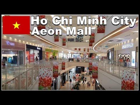 Ho Chi Minh City / Aeon Mall super Market / Vietnam 2017