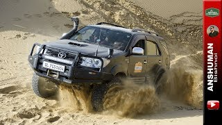 Fortuner stuck & Recovery; Sand dune offroading with Isuzu V-Cross, Endeavour 3.0 LT