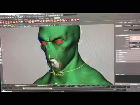 Sleepwalker CG Lip Sync Test!