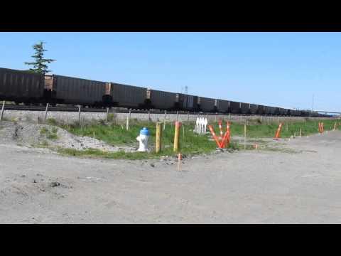 Rail fanning Roberts Bank