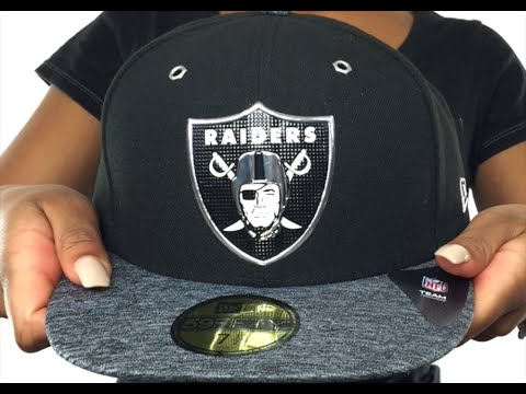 28242cf5e Raiders  2016 MONOCHROME NFL DRAFT  Fitted Hat by New Era - YouTube