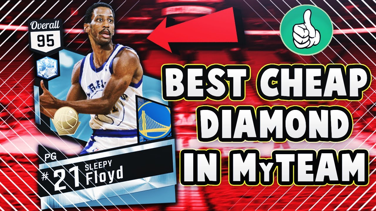 DIAMOND SLEEPY FLOYD IS THE BEST CHEAP DIAMOND IN NBA 2K17 MyTEAM