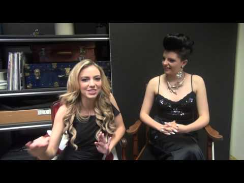 HAPPY NEW YEAR! Charlie Storwick and Sydney Scotia tell us their New Years Resolutions!