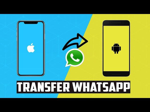 3 Ways to Transfer WhatsApp from iPhone to Android 2019   Transfer Whatsapp Messages