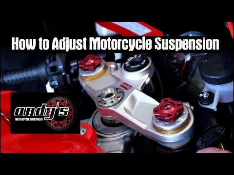 How To Adjust Motorcycle Suspension