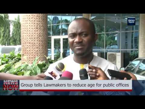 Group tells Lawmakers to reduce age for public offices