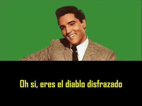 ELVIS PRESLEY  You´re the  Devil in disguise  con subtitulos en español  BEST SOUND