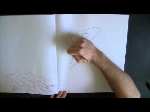 Learn How To Draw Graffiti Letters Fast