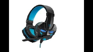 Розпакування навушників Aula Prime Basic Gaming Headset Black-Blue з Rozetka
