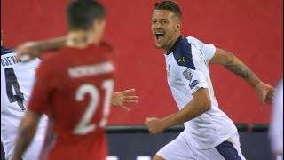 Gol Milinković-Savića   Norveška - Srbija 0:1   SPORT KLUB FUDBAL