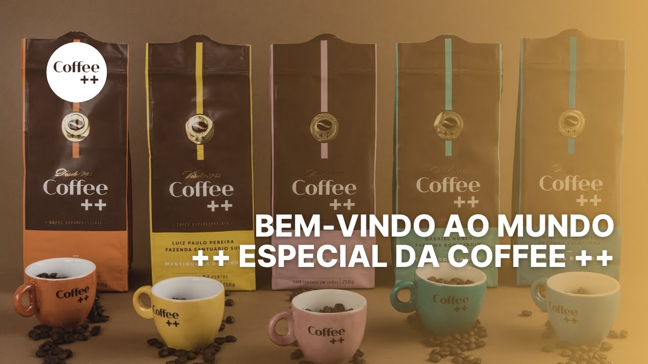 Bem-vindo ao mundo ++ especial da Coffee ++