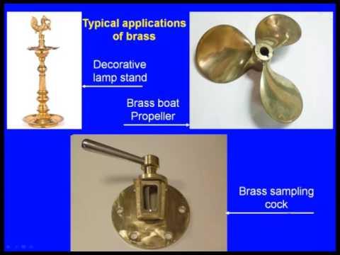 Copper, Zinc and Titanium Cast Alloys
