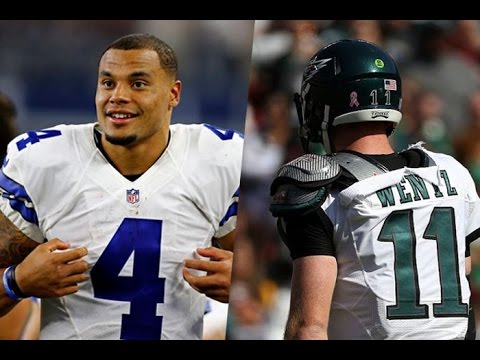 Dallas Cowboys vs. Philadelphia Eagles : Dak Prescott vs. Carson Wentz?