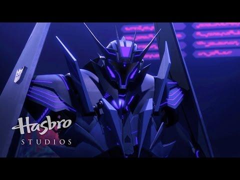 Transformers: Prime - Black Airachnid vs. Shockwave
