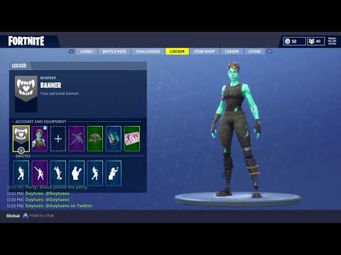 Fortnite Ghoul Trooper Account For Trade/Sale Cheap!
