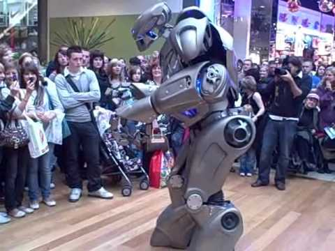 Titan the Robot in Birmingham Bullring 2 - Birmingham Post