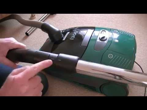 Vintage Hoover Alpina 2 1300 Watt Cylinder Vacuum Cleaner Unboxing & First Look