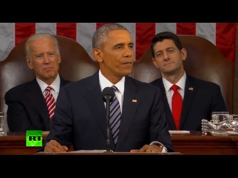 Obama delivers his last State of the Union address