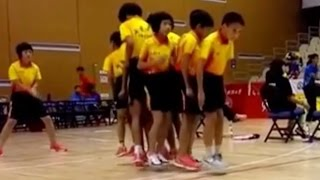 Chinese Students Skip 200 Times In One Minute