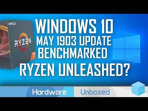 Windows 10 1903: Boosts Ryzen Performance? Maybe NOT!