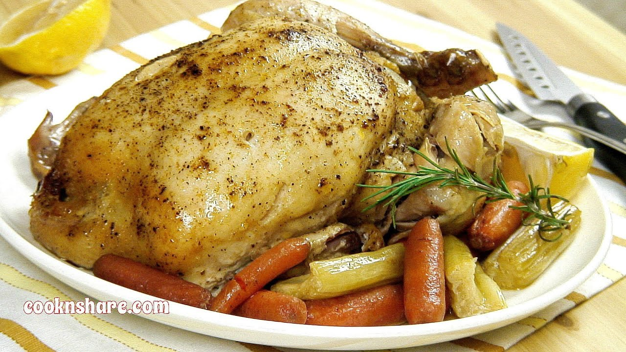 crock pot whole roast chicken episode 4 youtube
